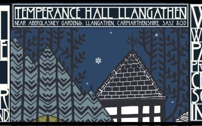 ART AT THE HALL WINTER WONDERLAND, 24TH NOVEMBER- 2ND DECEMBER, LLANGATHEN TEMPERANCE HALL