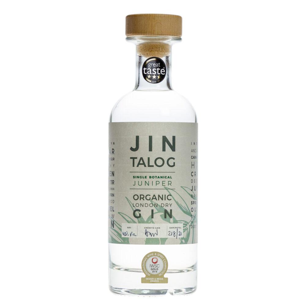 Jin Talog Single Botanical Organic Gin Bottle