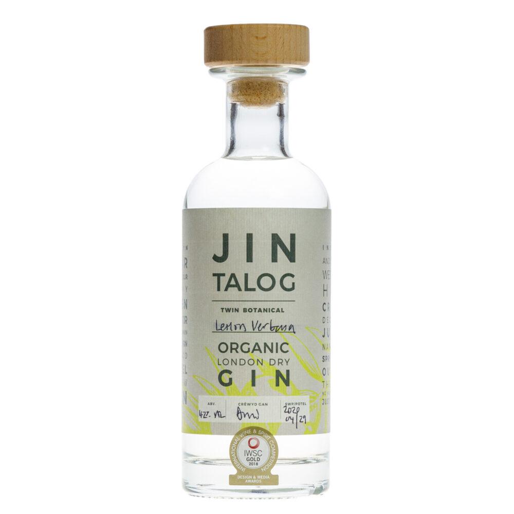 Jin Talog Twin Botanical Jin Organig Meryw a Ferfain Lemonaidd